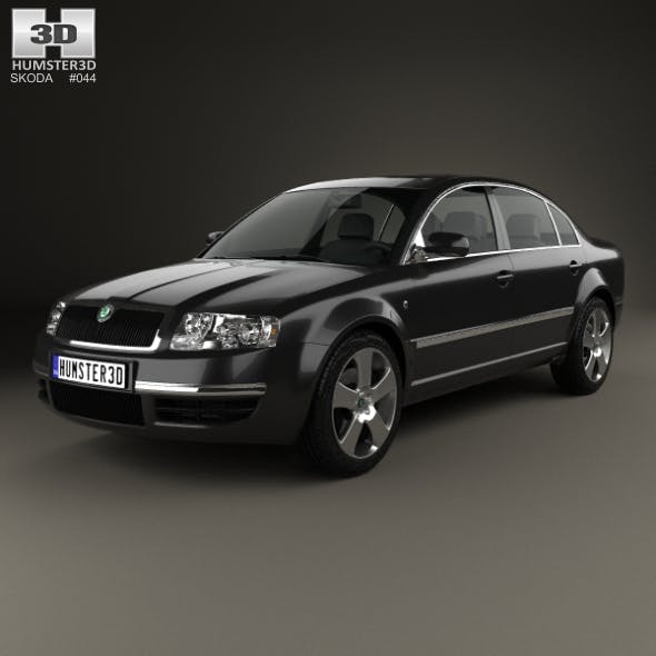Skoda Superb 2001 - 3DOcean Item for Sale