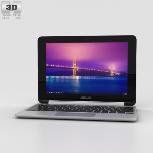 Asus Chromebook Flip - 3DOcean Item for Sale