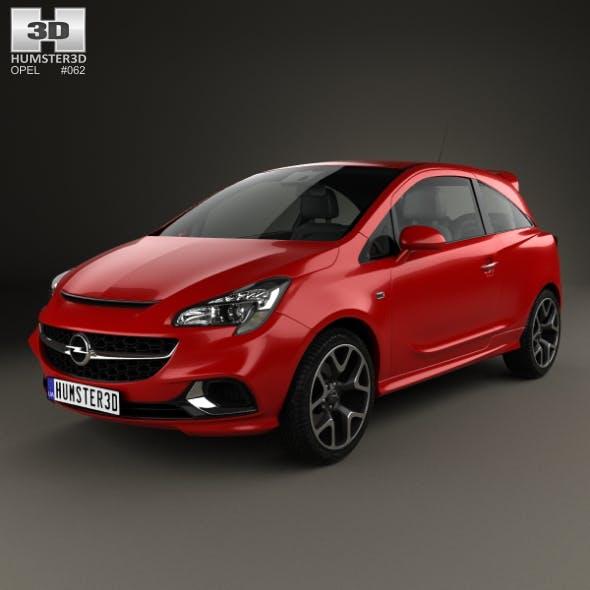 Opel Corsa E OPC 2015 - 3DOcean Item for Sale
