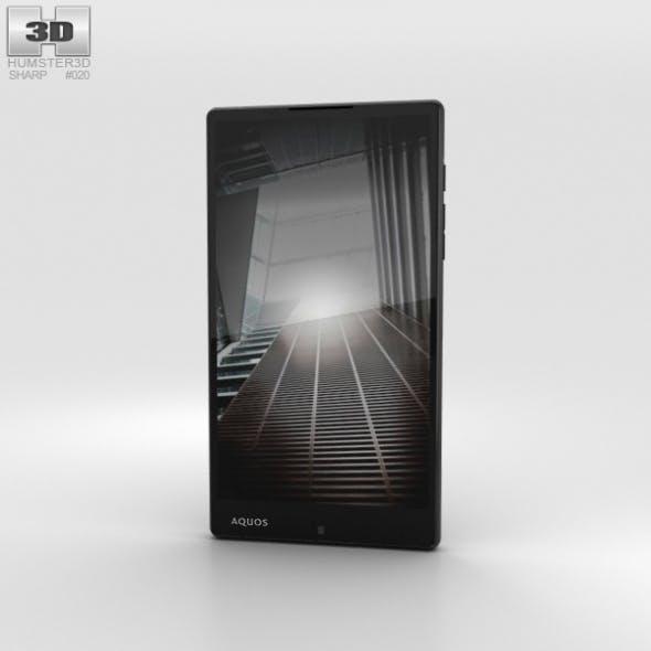 Sharp Aquos Xx Black - 3DOcean Item for Sale