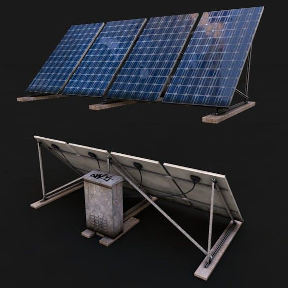 Solar Panel - 3DOcean Item for Sale