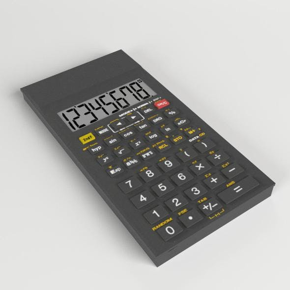 Electronic Calculator 2