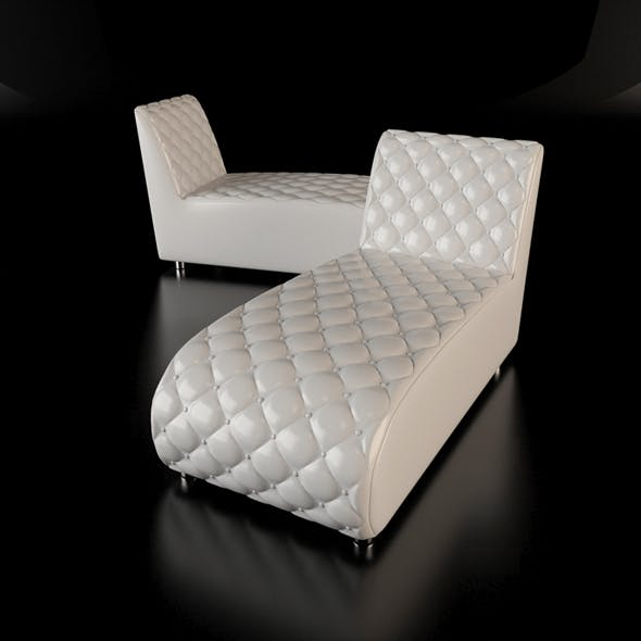 Button chaise longue