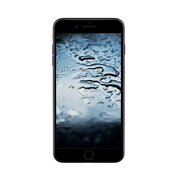 iPhone Plus Black - 3DOcean Item for Sale