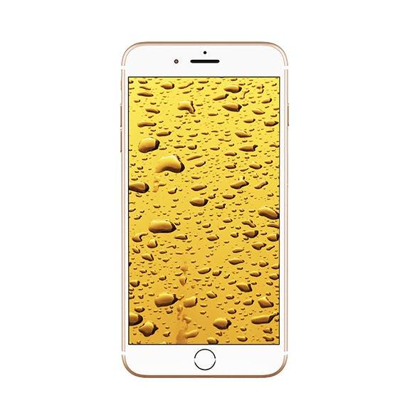 iPhone Plus Gold - 3DOcean Item for Sale
