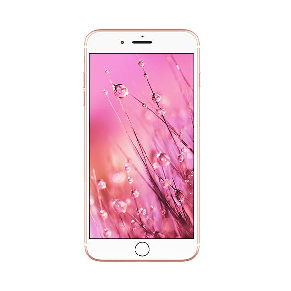 iPhone Plus Pink - 3DOcean Item for Sale