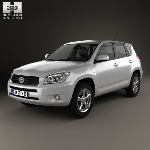 Toyota RAV4 2006 - 3DOcean Item for Sale
