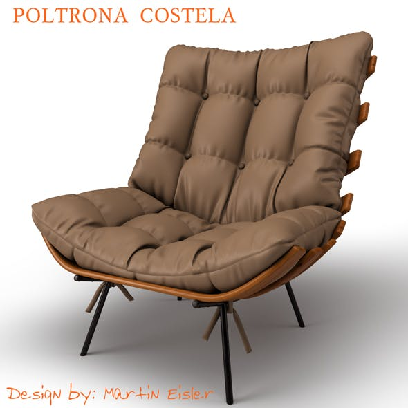 Poltrona Costela - 3DOcean Item for Sale