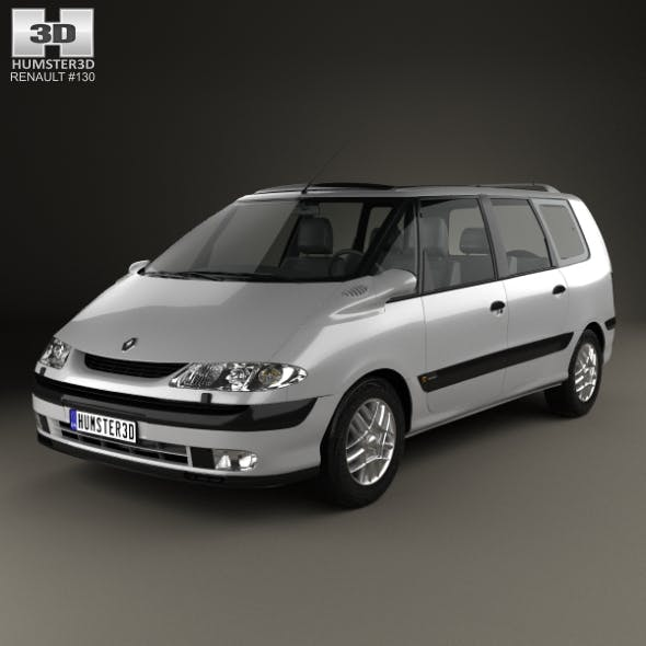 Renault Espace 1996 - 3DOcean Item for Sale