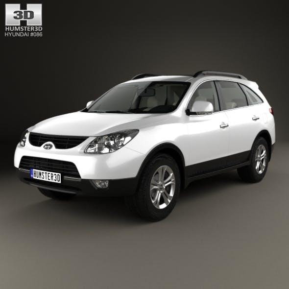 Hyundai Veracruz (ix55) with HQ interior 2014 - 3DOcean Item for Sale