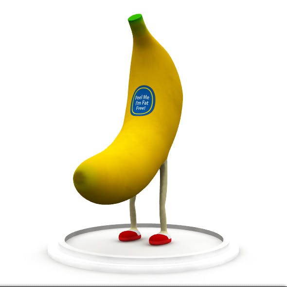Rigged Banana