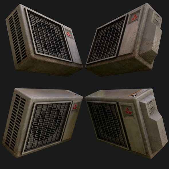 Air Conditioning Unit - 3DOcean Item for Sale