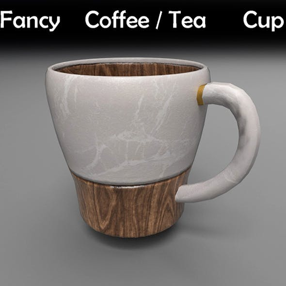 Fancy Coffee/Tea Cup