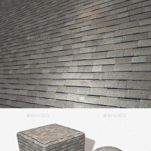 Random New Roof Tiles Seamless Texture