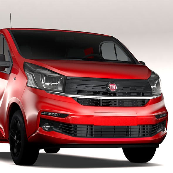 Fiat Talento Van L2 2017 - 3DOcean Item for Sale