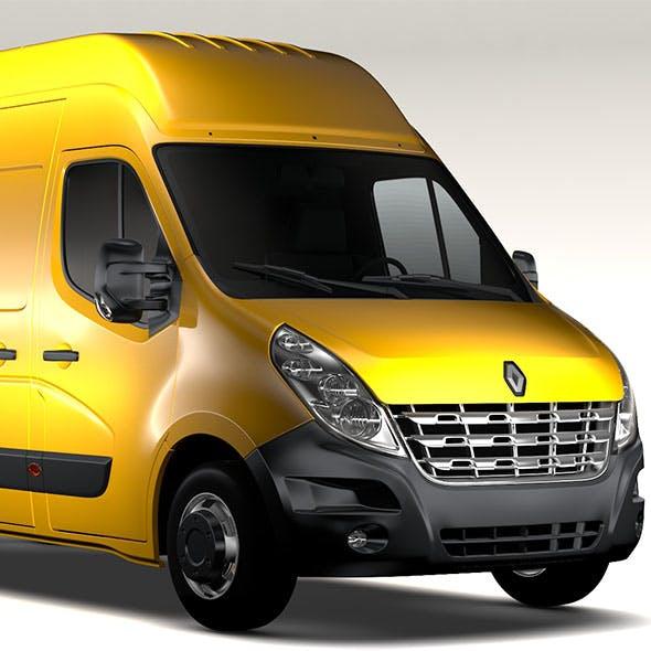 Renault Master L3H3 Van 2010 - 3DOcean Item for Sale