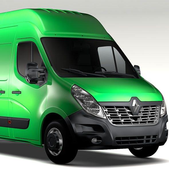 Renault Master L3H3 Van 2017