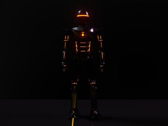 Emission Robot - 3DOcean Item for Sale