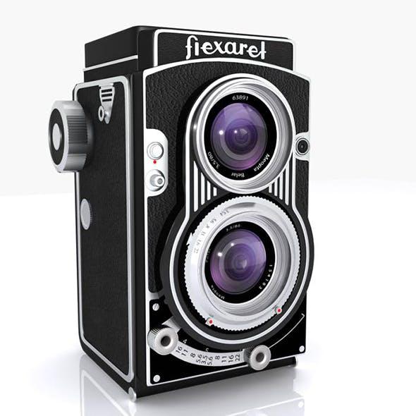 intage Flexaret Camera