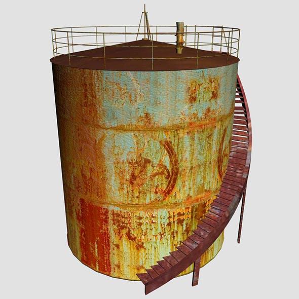 Oil Tanker 02 - 3DOcean Item for Sale