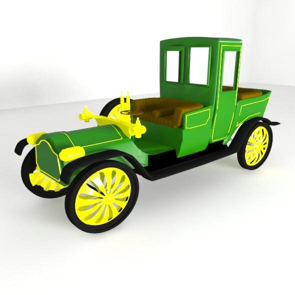 Vintage Toy Car - 3DOcean Item for Sale