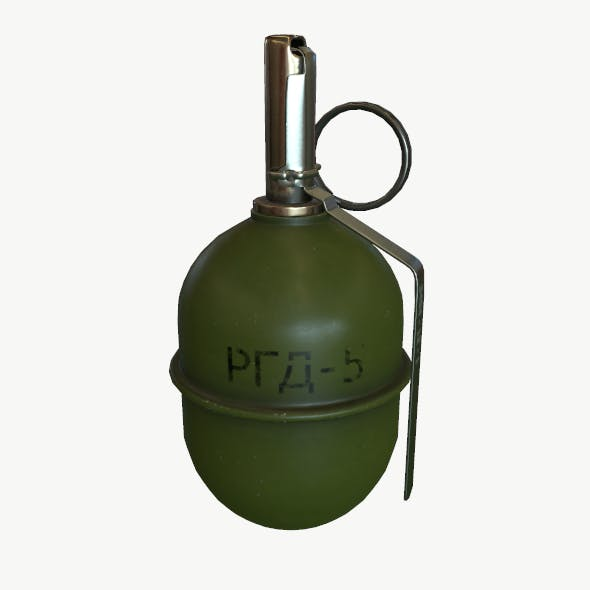 Grenade RGD-5 (CIS) - 3DOcean Item for Sale