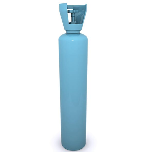 Gas Cylinder 02 - 3DOcean Item for Sale