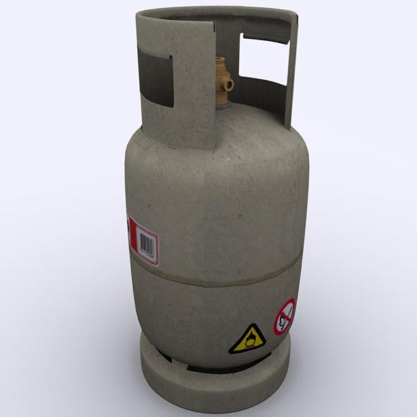 Gas Cylinder 03 - 3DOcean Item for Sale