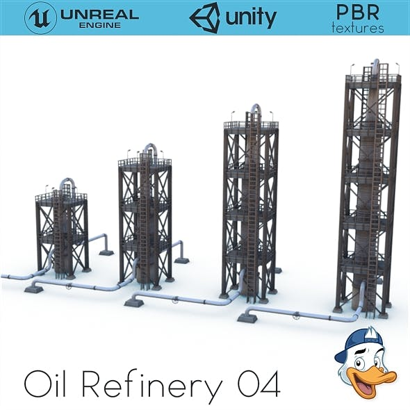 Oil Refinery 04