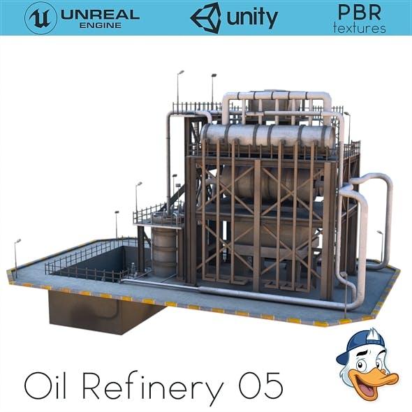 Oil Refinery 05