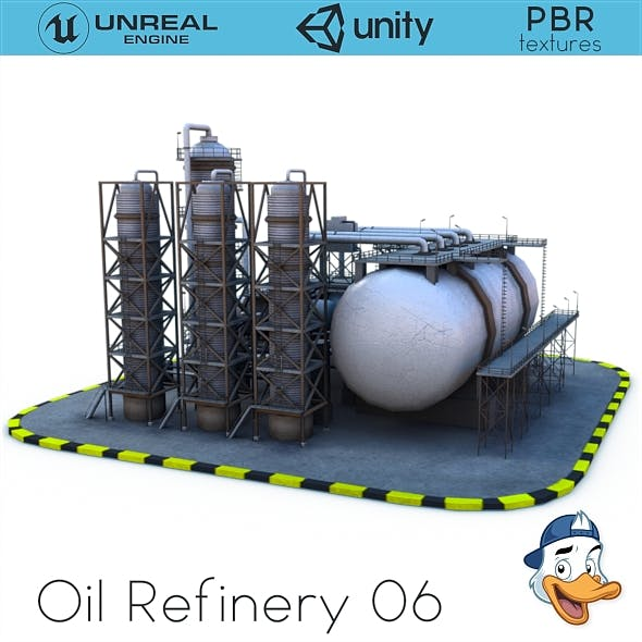 Oil Refinery 06