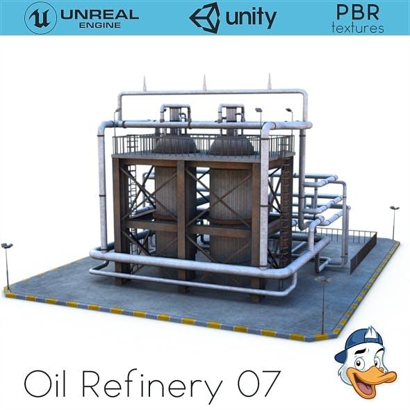 Oil Refinery 07