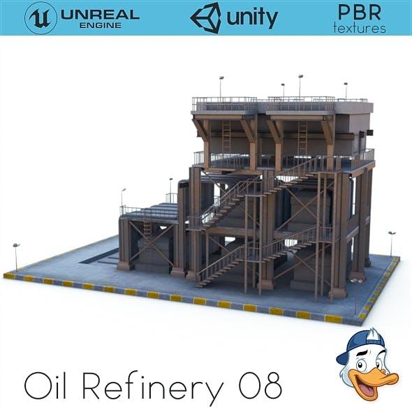 Oil Refinery 08