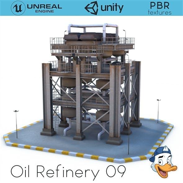 Oil Refinery 09