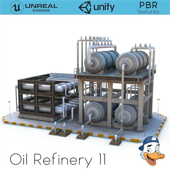Oil Refinery 11