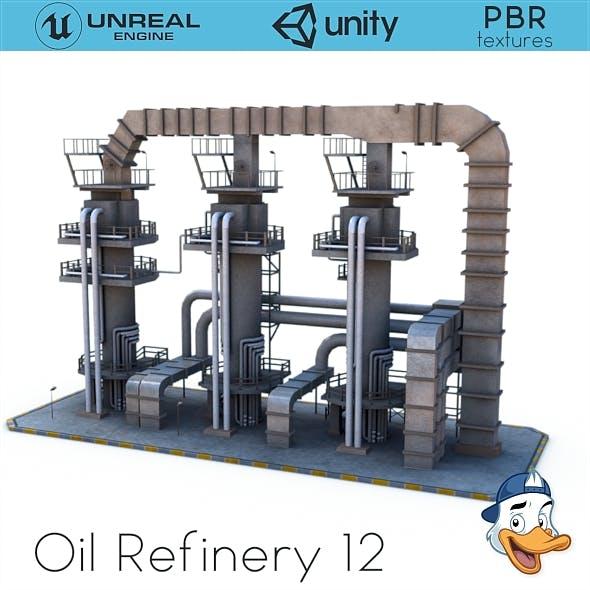 Oil Refinery 12