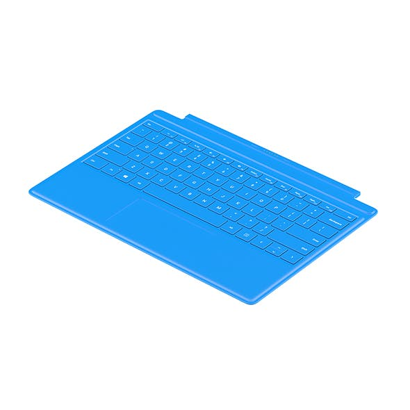 Surface Keyboard Flat - 3DOcean Item for Sale