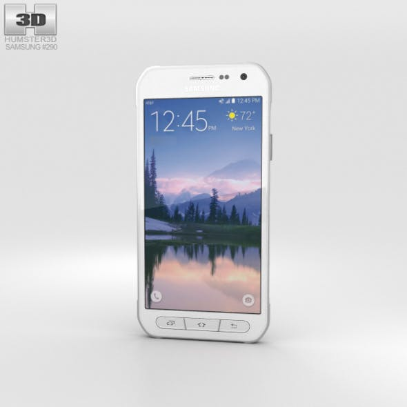 Samsung Galaxy S6 Active White - 3DOcean Item for Sale
