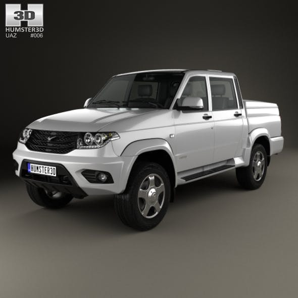 UAZ Patriot (23632) Pickup 2014