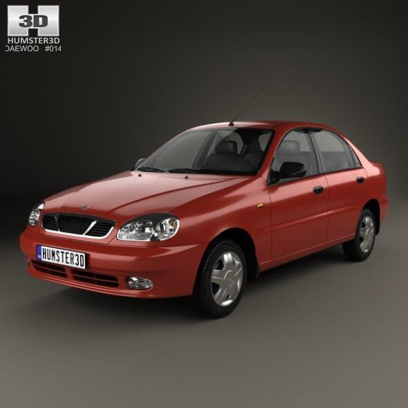 Daewoo Lanos (T100) 1998 - 3DOcean Item for Sale