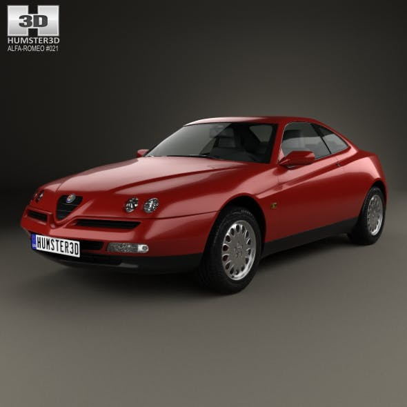 Alfa Romeo GTV 1995 - 3DOcean Item for Sale