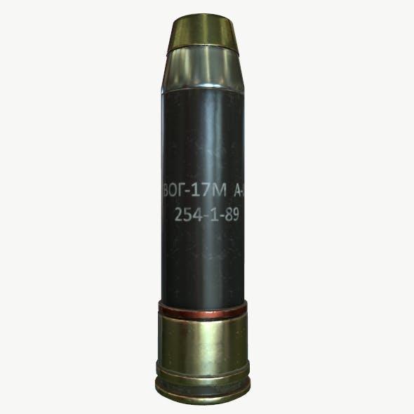 Launch grenade VOG-17 (CIS) - 3DOcean Item for Sale