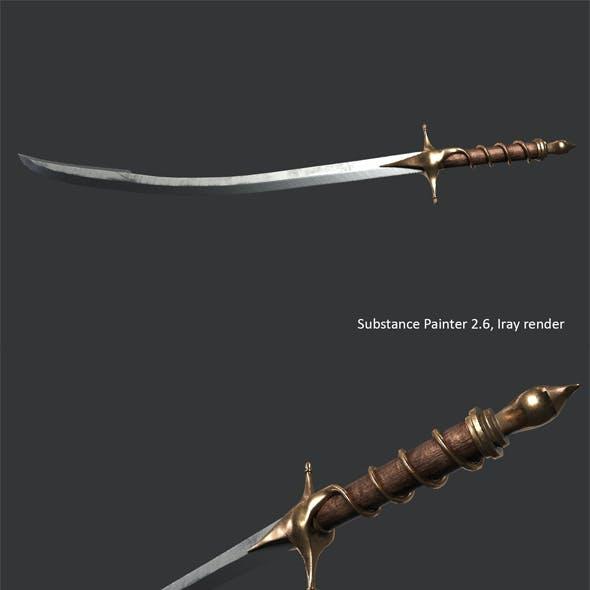 Cossack saber