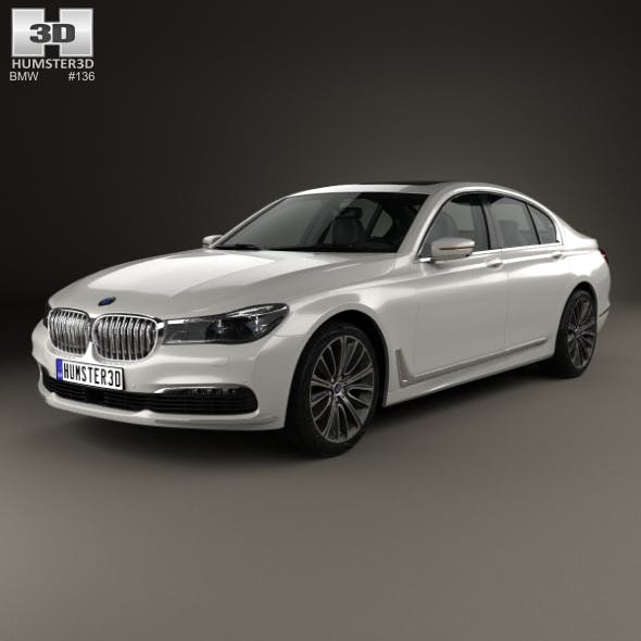 BMW 7 Series (G11) 2015 - 3DOcean Item for Sale