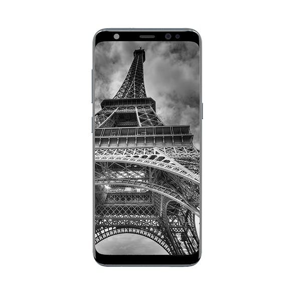 Galaxy S8 Silver - 3DOcean Item for Sale