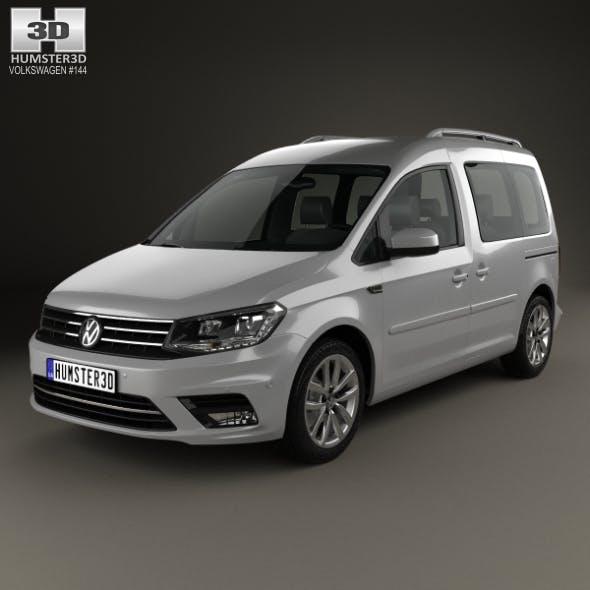 Volkswagen Caddy Highline 2015 - 3DOcean Item for Sale
