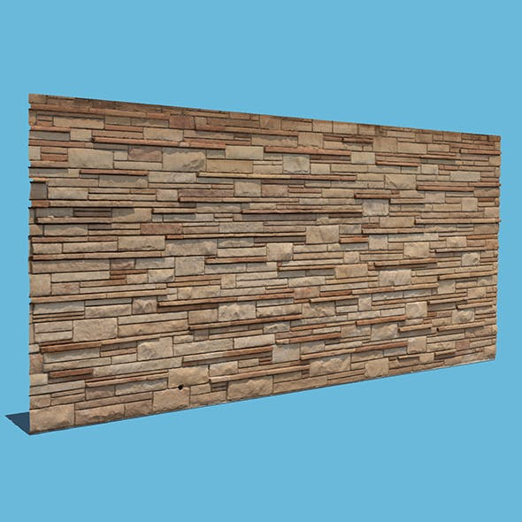 New Brick Wall - 3DOcean Item for Sale