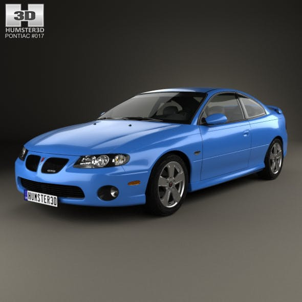 Pontiac GTO 2003 - 3DOcean Item for Sale