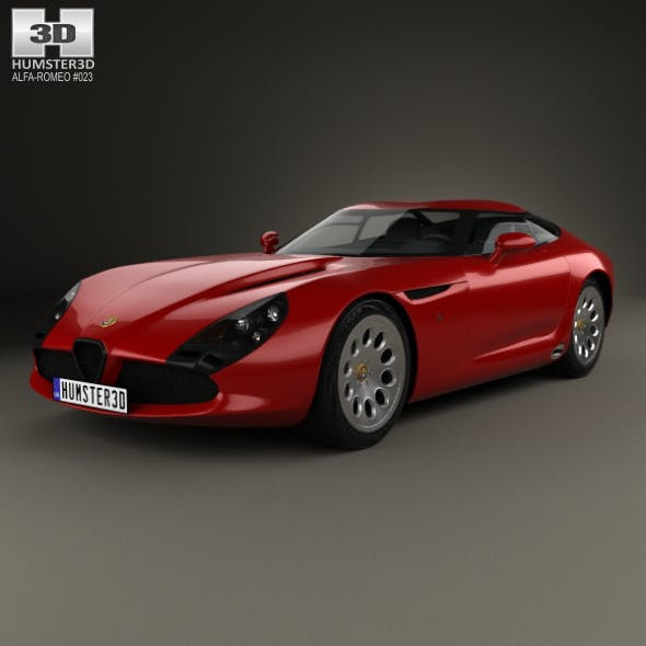 Alfa Romeo TZ3 Stradale 2011 - 3DOcean Item for Sale