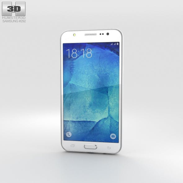 Samsung Galaxy J5 White - 3DOcean Item for Sale